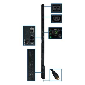Tripp Lite PDU3VN10L2130 Pdu 3-phase Monitored 8.6kw Perp 208/120v 36 C13 6 C19 3 5-15/20r 0u