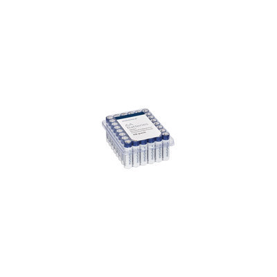 Insignia™ - Aa Batteries (48-pack) - White / Blue