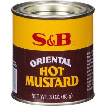S&B Oriental Hot Mustard, 3 oz (Pack of 6)