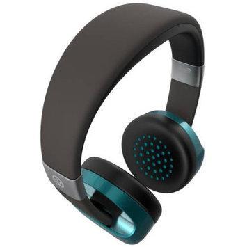 Zagg On Ear Kopfhorer Ifrogz Audio Carbide-Headphone mit Mikrofon, BlauGrun