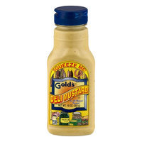 Gold's Golds Squeeze Deli Mustard (12x10 Oz)