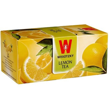 Wissotzky Lemon Fruit Tea 25 Bags - 1.76 oz