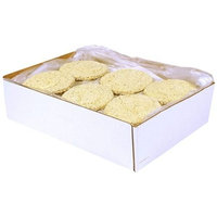 Advance Food Breaded Beef and Pork Pizza Patties, 4 Ounce - 40 per case.