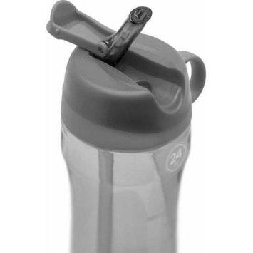Leapfrog Pogo BPA-Free Plastic Water Bottle with Flip Straw, 24 oz