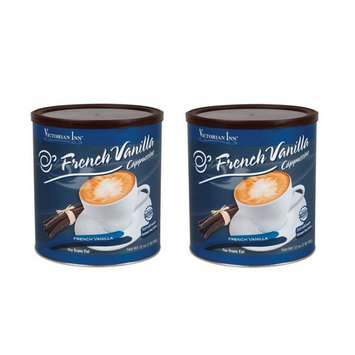 Victorian Inn Instant Cappuccino, French Vanilla, 32 Ounce 2 Pack