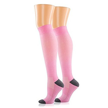 Compression Socks for Men and Women. Medical Graduated Compression 15-20 mmgh. Moderate Support Stockings, Great for Nurse, Pregnancy, Athletic, Running, Flight Travel, Shin Splint Recovery