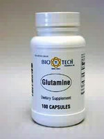 Glutamine 500 mg 100 caps by Bio-Tech