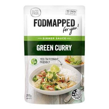 Fodmapped Foods Llc Green Curry Simmer Sauce