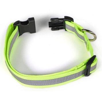Starline Global Petflect Fluorescent Yellow/ Silver Reflective AdventurePlay Collar