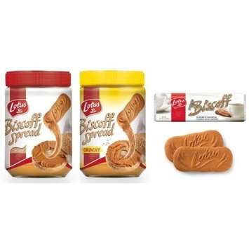 Trio Pack 1 x Crunchy Spread 1 x Smooth Spread 1 x 32 Cookies