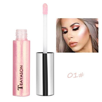 Make Up Concealers, Cucme Shimmer Face Glow Liquid Highlighter Concealer Gloss Makeup Nude Shades (A) : Beauty