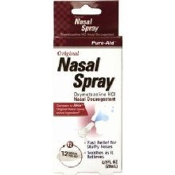 No Drip Nasal Spray Compare to Afrin Oxymetazoline HCI 12 Hour Pump Mist