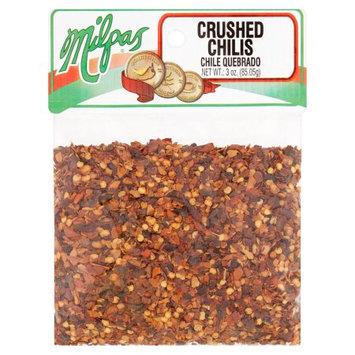 Milpas Foods Milpas Crushed Chilis, 3 oz