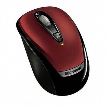 Micro Innovations Microsoft 6BA-00024 Red Wireless Optical Wireless Mobile Mouse 3000