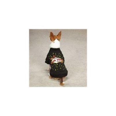 Petedge ZM2010 14 17 Casual Canine Dog Park Tee S/M Black