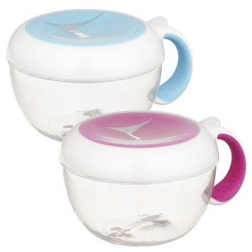 OXO Tot Flippy Cup, 2 Pack - Aqua/Pink