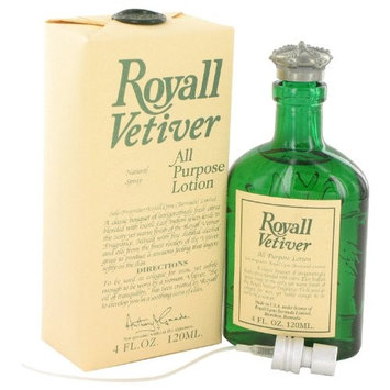 Royall Vetiver by Royall Fragrances Men's All Purpose Lotion 4 oz - 100% Authentic