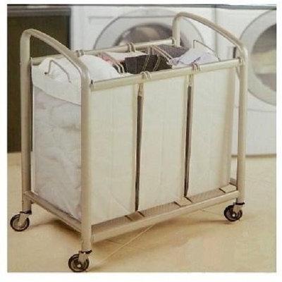 Seville Classics 3-bag Laundry Sorter