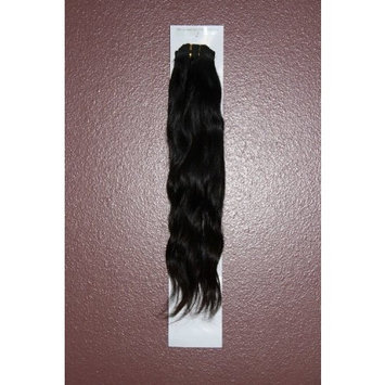 18 inch Indian Remy Hair #1B Natural Wave 100% REAL HUMAN HAIR