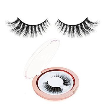 BEPHOLAN 3D False Eyelashes Fake Eyelashes Reusable Handmade Natural Lashes Fake Eyelashes 100% Siberian Mink Handmade False Lashes (XMZ04)
