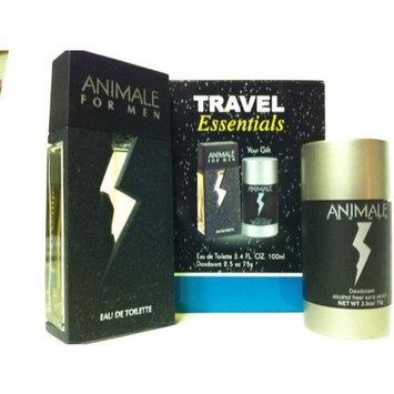 Animale for Men Gift Set - 3.4 oz EDT Spray + 2.5 oz Deodorant Stick