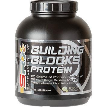 Supplement Rx Building Blocks Protein, Creamy Vanilla, 4 lbs (1814 Grams)