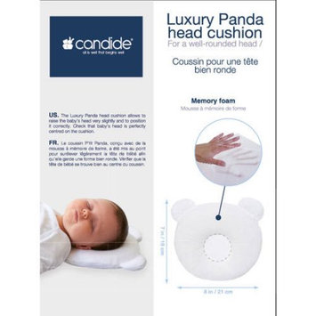 Candide Baby Group CANDIDE Luxury Panda Head Cushion, White