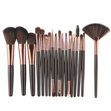 Paymenow New 18 Pieces Makeup Brush Set Tools Foundation Face Powder Blush Eyeshadow Brushes
