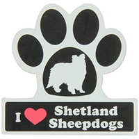 Smart Tag LittleGifts Car Magnet [Shetland Sheepdog]