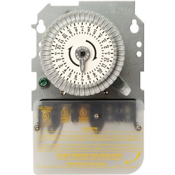 Woods 40Amp 120Volt SPST 24Hour Mechanical Time Switch, Replacement Mechanism Only, 59101M