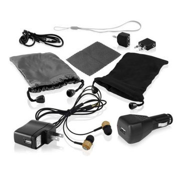 Ematic 10-in-1 Universal Accessory Kit for iPods/MP3 Players