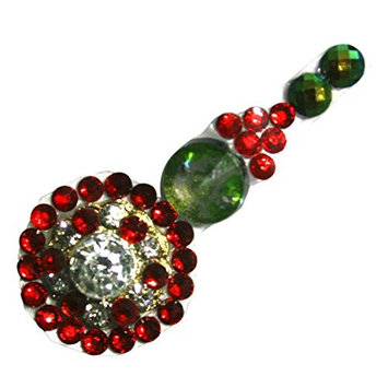 Red Planet Precious Cosmic Tides Body Bindis Jewelry StickOn CRYSTAL Face Forehead Bindi for Peace and Meditation