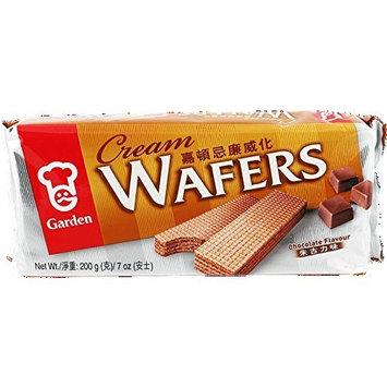 Garden - Cream Wafers - Chocolate Flavour (Net Wt. 7 Oz.)