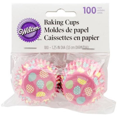 Wilton Easter Hop and Tweet 100-Count Mini Baking Cups
