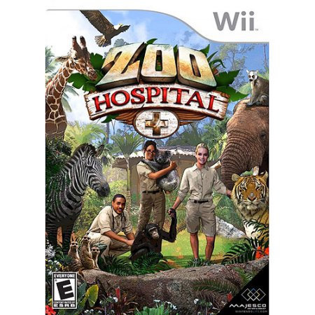 Majesco Sales, Inc. Majesco Zoo Hospital - Simulation Game - Wii