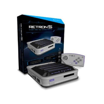 Monoprice 14163 Hyperkin RetroN 5 Retro Video Gaming System Gray
