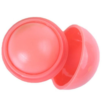 Portable Fruit Lip Balm Ball Smooth Moisturizing Natural Plant Sphere Lip
