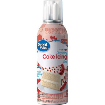 Wal-mart Stores, Inc. Great Value Decorating Cake Icing, Red, 6.4 oz