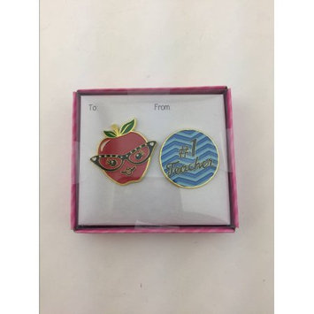 Qtop Valentine Apple #1 Pin Set.