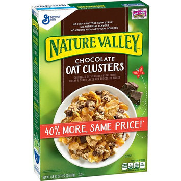 Nature Valley Oat Clusters Cereal Chocolate, 22.2 oz