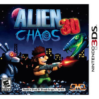 Giant Media Group Alien Chaos 3D (Nintendo 3DS)