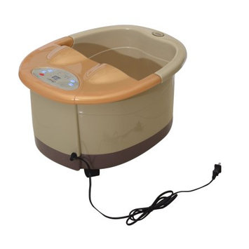 Soozier Foot Bath Spa Massager w/ Bubble Heating