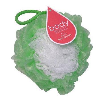 Body Sport Body Benefits 2-in-1 Net Bath Sponge(pack of 6)