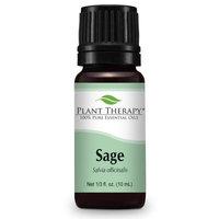 Sage Essential Oil. 10 ml (1.3 oz). 100% Pure, Undiluted, Therapeutic Grade.