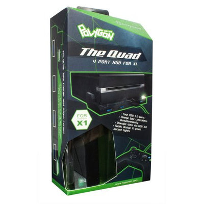HYPERKIN Xbox One 4 Port USB Hub M07081, Black