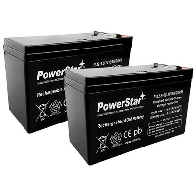 UPS Replacement Battery Pack for APC SU700NET - APC RBC5 - Leakproof 12V 9AH x 2 Battery.