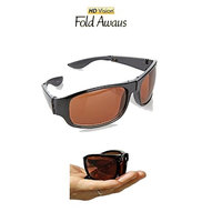 HD Vision Fold Aways Sunglasses Deluxe- Single