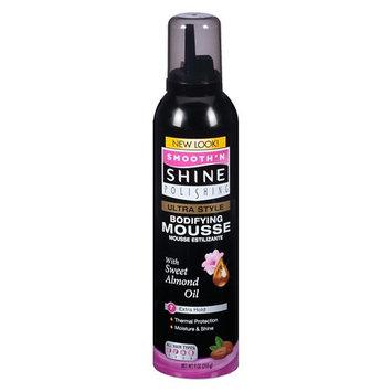 Smooth 'n Shine Polishing Styling Mousse 9.0 fl oz(pack of 4)