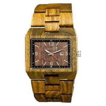 Men's Earth Wood Rhizomes Watch with Eco-Friendly Sustainable Wood Bracelet