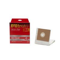 Filtrete 65700 Dirt Devil C Vacuum Bags (3-Pack)